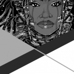 Photo of event brochure for Afrofuturism