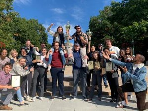 Monmouth Debate Team Picks Up Team Wins at University of Rochester
