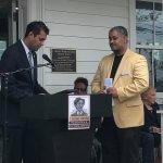 Photo of Dr. Greason accepting his award