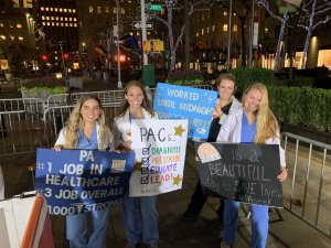 Monmouth Students Visit 'Today' Show for National Physician Assistant Week