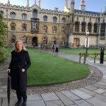 Photo of Dr. Acuzy at Cambridge University