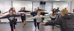 Monmouth University Students Participate in Master Class with Award-Winning Choreographers