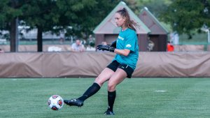 Knaub Named ECAC Defensive Player of the Year