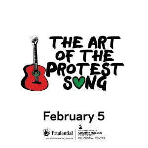 Professor RapollaProduces'Art Of The Protest Song' Event at the GRAMMY Museum Experiencein Newark