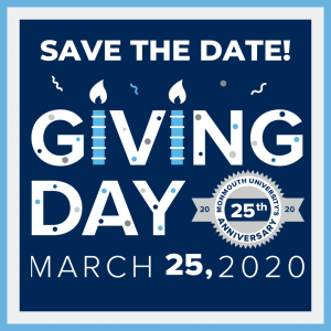 Monmouth Celebrates Giving Day on March 25