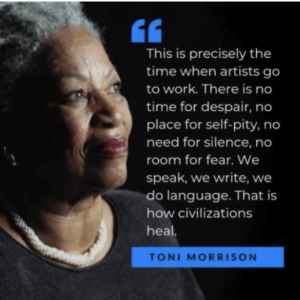 Department of English Celebrates Toni Morrison Day