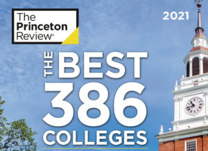 "Monmouth University Featured in The Princeton Review's ""Best 386 Colleges"" Guide for 2021"