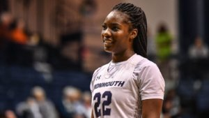 Former Women's Basketball Forward Alexa Middleton '20 Named to Sport Changes Life Foundation (SCLF) Victory Scholar Program