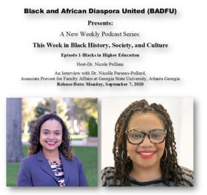 LISTEN: The Black and African Diaspora Forum United (BADFU) of Monmouth University Launches New Podcast
