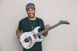 "Author Tom Morello will discuss his new book, ""Whatever iI Takes"""