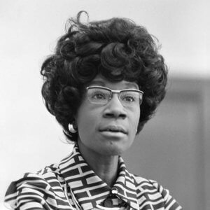 Chisholm's legacy will be discussed