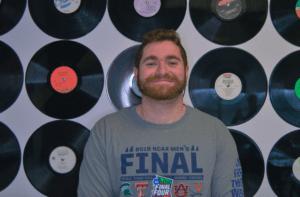 Senior Sean Gerhard is the winner of Most Creative Radio Show