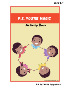 Cover of P.S. You're Magic Activity Book