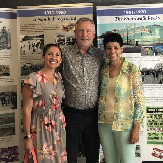 """Opening reception of """"Asbury Park: 150 Years of Change and Transformation – A Segregated Seashore"""