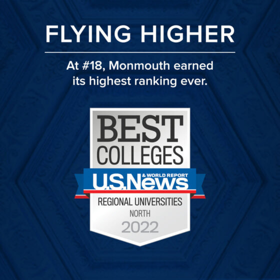 Monmouth climbs to 18 on US News roster