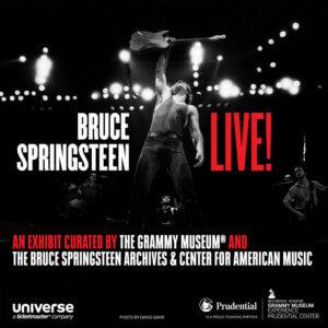 Bruce Springsteen Live! Exhibit Opens Oct 1