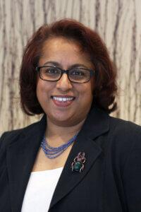 Headshot of Dept. Chair Nancy Uddin