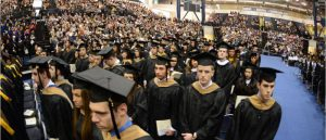 Photo of Graduation Ceremony at OceanFirst Bank Center
