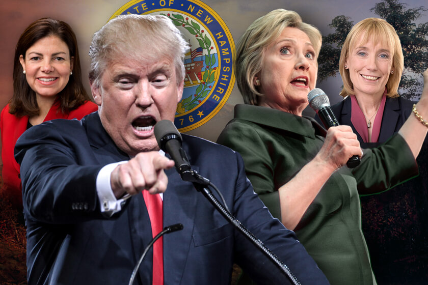 Clinton Leads Trump Senate Race Neck And Monmouth