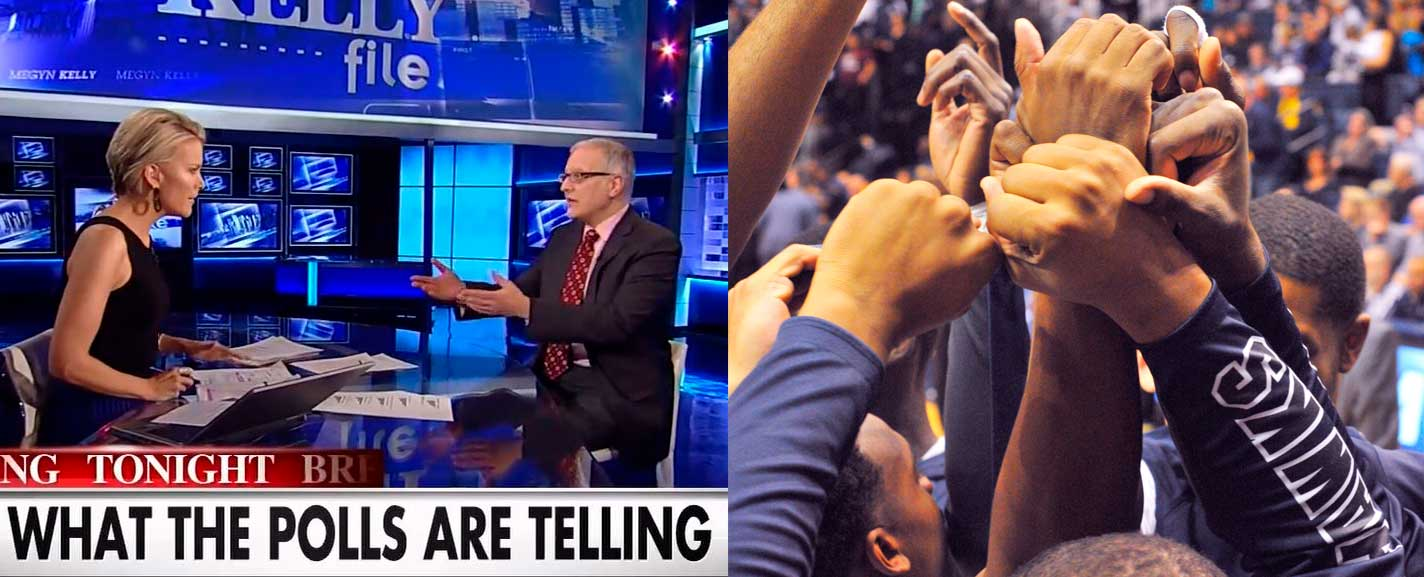 Patrick Murray on The Kelly File, and the arms of Monmouth athletes raised in comradery