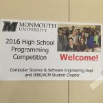2016 High School Programming Competition at Monmouth University Photo 1
