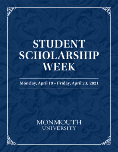 Photo Image: Cover of Student Scholarship Week 2021 program - click to download the program