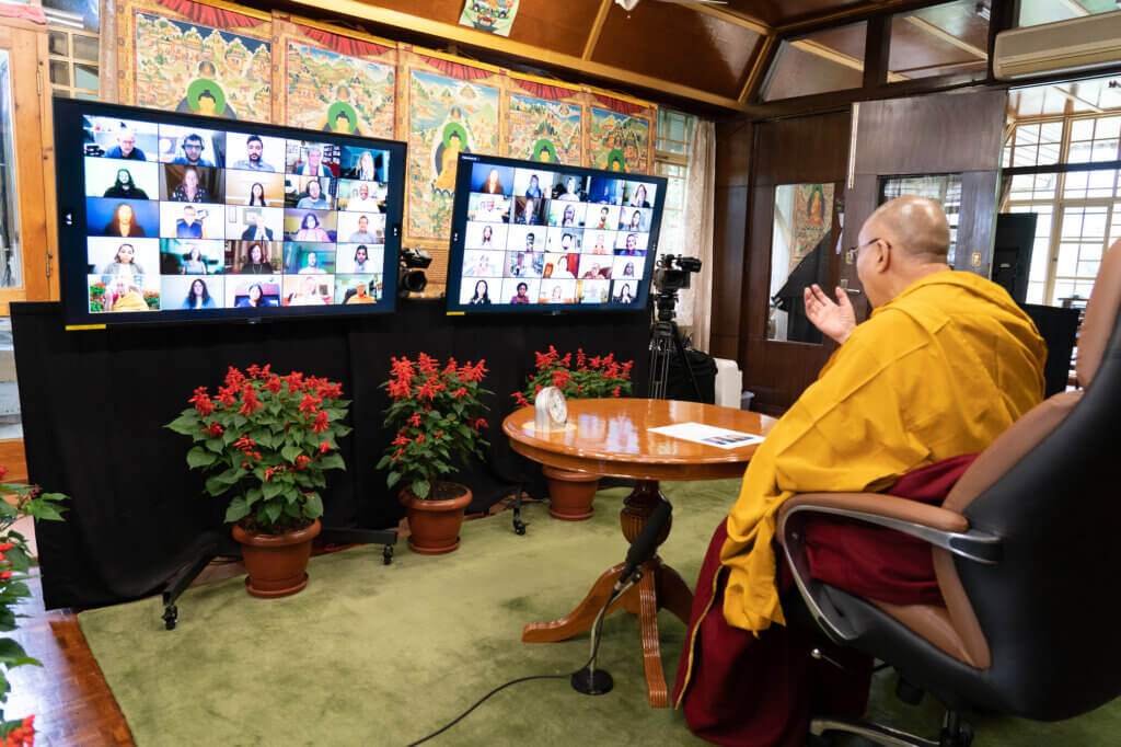 Dalai Lama Livestream Event Photo 4 - click or tap for larger view