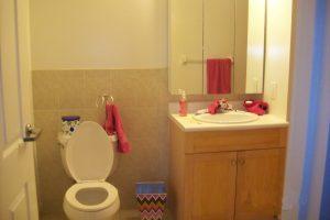 Pier Village bathroom