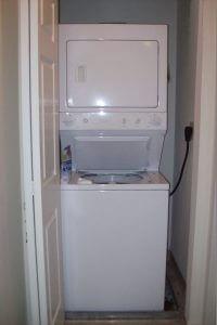 Pier Village washer and dryer unit