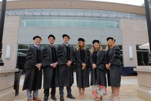 Inaugural Class of Educational Leadership Doctoral Students Graduate at Monmouth University Summer Commencement Photo 1