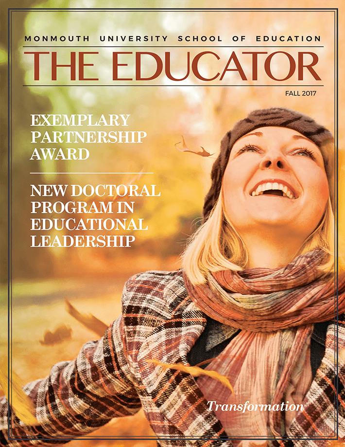 School of Education Magazine Cover
