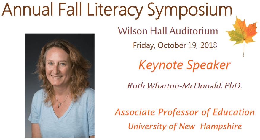 Literacy Symposium Banner