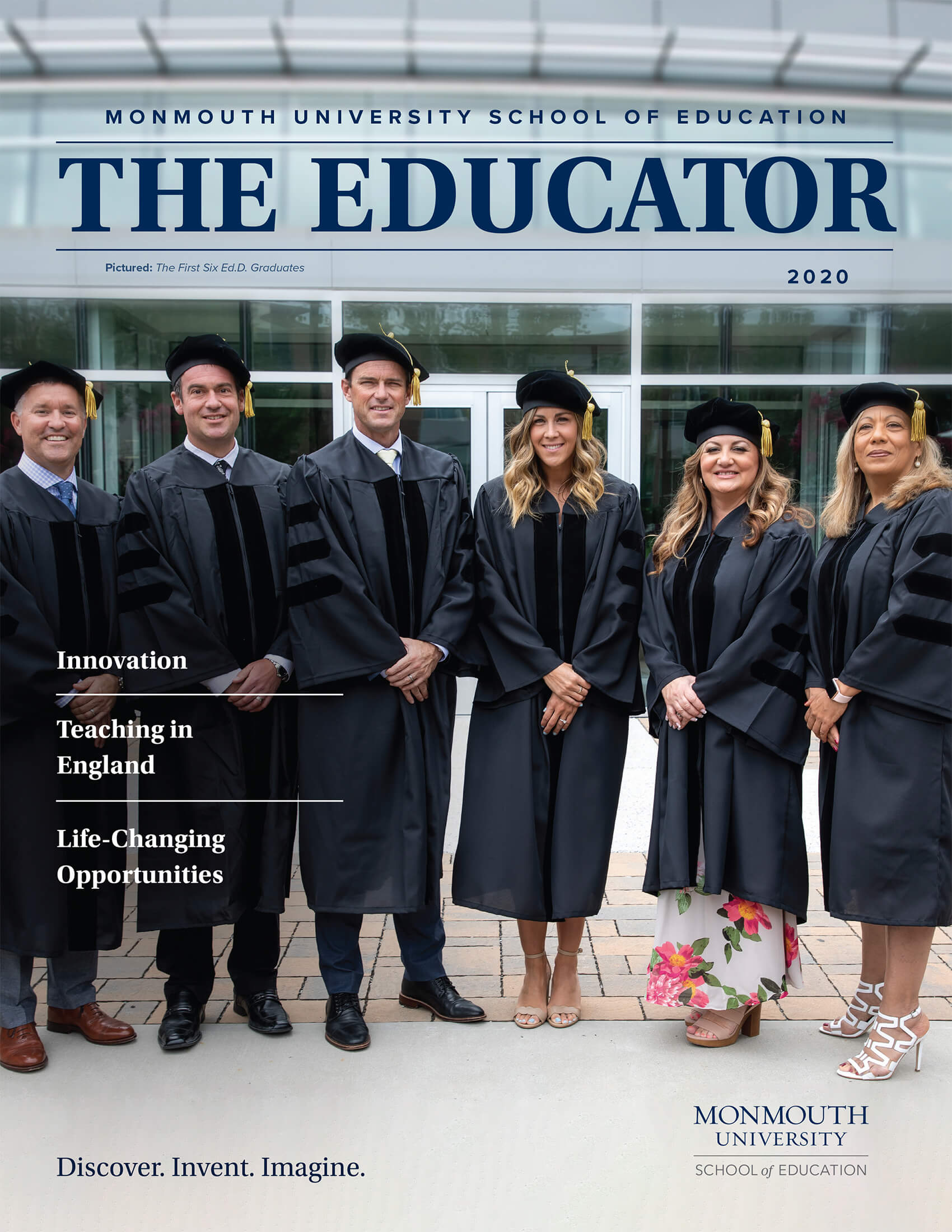 School of Education Magazine Cover