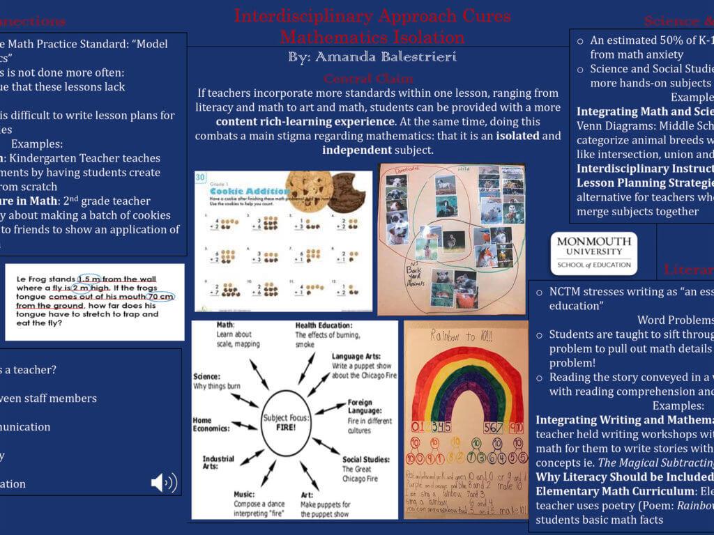 Screenshot photo of presentation by Amanda Balestrieri