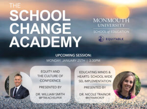 Inaugural Session of the School Change Academy at Monmouth University: Click for detailed image view