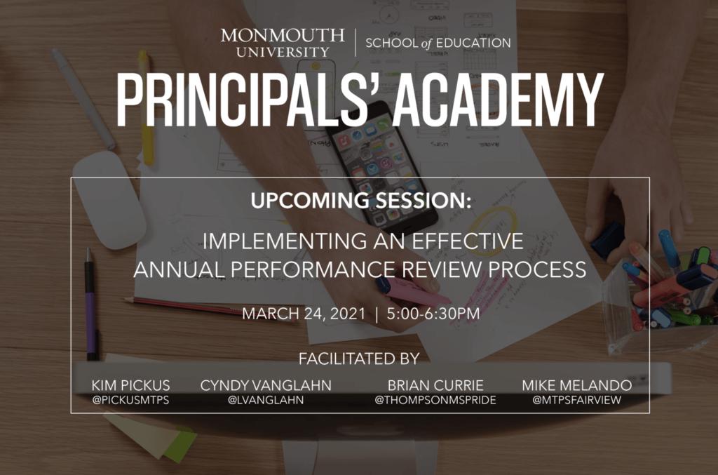 Principals' Academy 3/24
