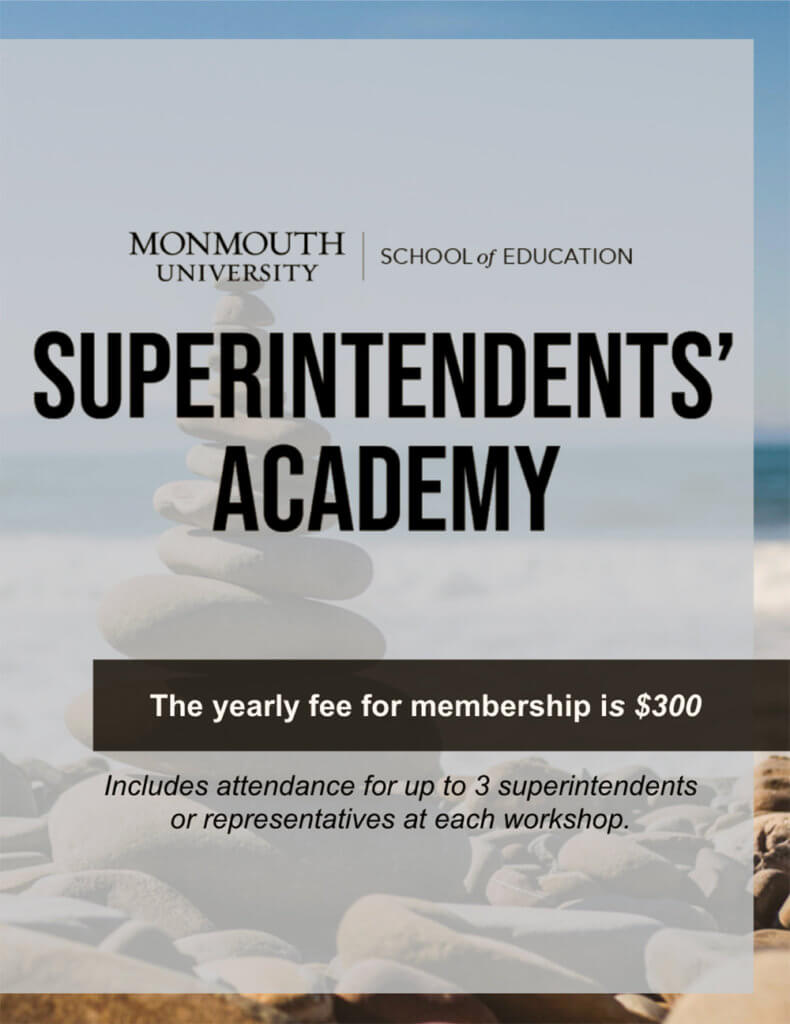 Photo image of Superintendents Academy 2021-22 Academic Year Flyer: Click or tap to register for membership online