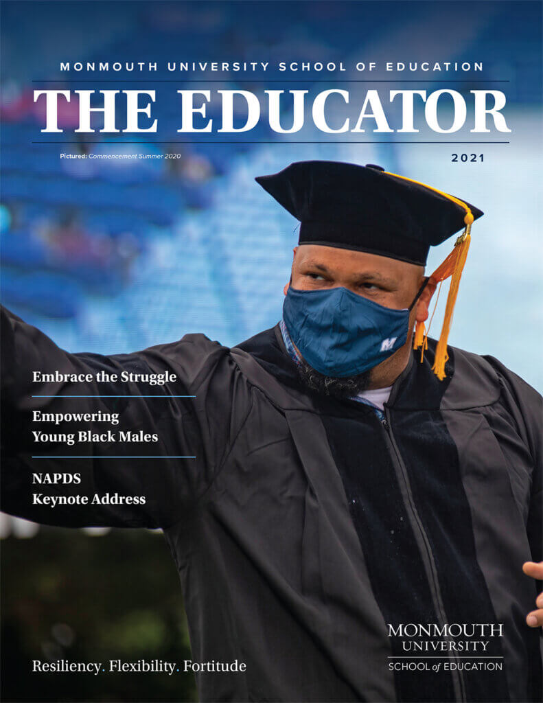 Image of cover of the 2021 Issue of the Educator: Click or tap to Read and Download current magazine issue