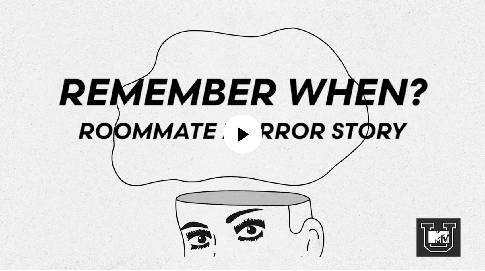 Think your roommate situation is bad? Brian recounts his roommate horror story in this episode of Remember When.