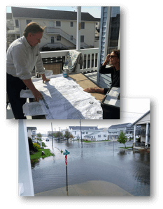 Herrington studies flooding in Ocean City