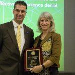 Click to View 5th Annual School of Science Deans' Seminar Photo of Dean Palladino and Ann Reid
