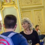 Click to View 5th Annual School of Science Deans' Seminar Photo of Ann Reid at Audience Reception