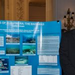 Click to View 2015 Student Research Conference Photo of Justin Procopio with poster