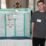 Click to View 2015 Student Research Conference Photo of Caitlyn Pevzner, Harris Kittner, Bryan Cusak