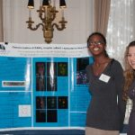 Click to View 2015 Student Research Conference Photo of Polina Gaisinskaya, Rachel Murphy, Christina Machado