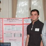 Click to View 2015 Student Research Conference Photo of Dan Robinson, Joe Perello, Anthony Grazioso