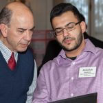 Click to View 2015 Student Research Conference Photo of Dr. Sarsar and Abdullah Alsaleem