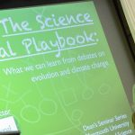 Click to View 5th Annual School of Science Deans' Seminar Photo of The Science Denial Playbook