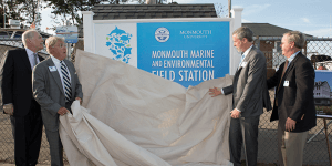 Click to View Monmouth Marine and Environmental Field Station Ceremony Photo 4