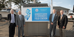 Click to View Monmouth Marine and Environmental Field Station Ceremony Photo 6
